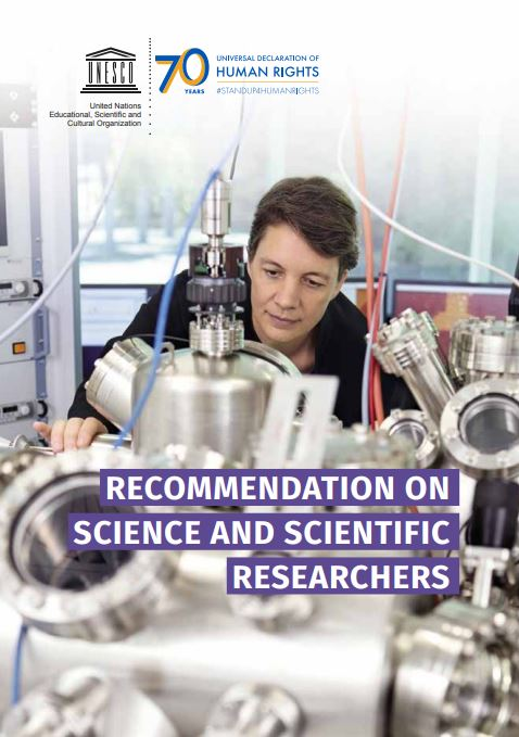 recommendation on science and scientific researchers