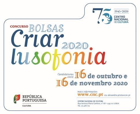 concurso bolsas criar lusofonia 2020