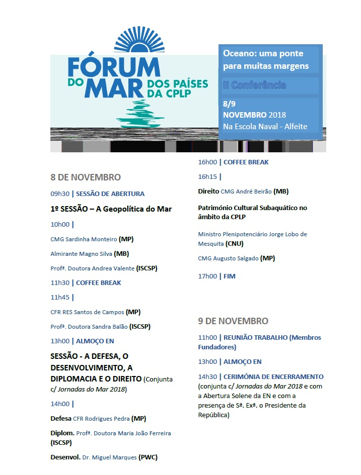 forum do mar dos paises clpl cartaz